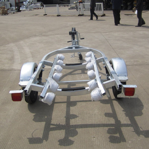 trailer moto de agua rodillos