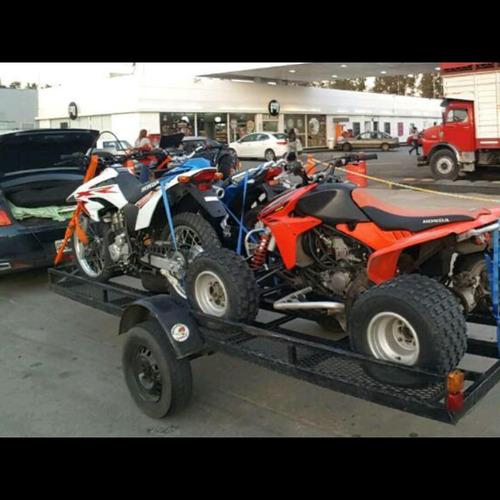 trailer moto gancho trailers loquillo