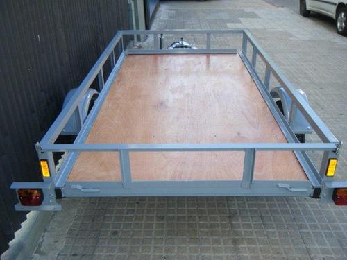 trailer multiuso piso de madera