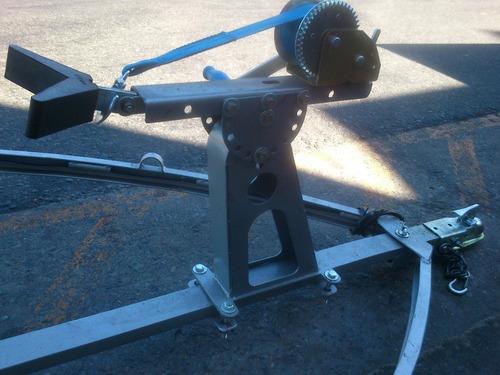 trailer nautico 4.30 m con rodillos galvanizado vasculante
