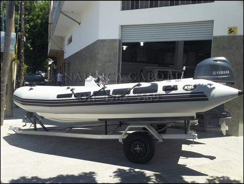 trailer nautico nuevo para lanchas botes semirrigido gabott