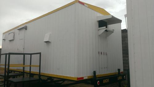 trailer oficina con baño ( ventas )