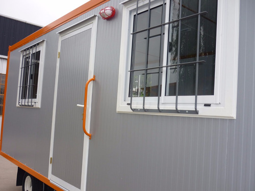 trailer oficina incluye iva sanitarios kitchenette obrador