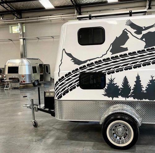 trailer outdoor, turismo aventura, camping, casa rodante