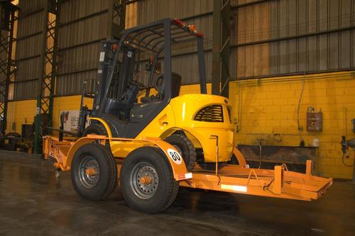 trailer p autoelevador tijera hidrauli compactador apilador