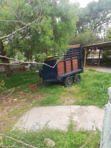 trailer para 1 caballo. alquiler