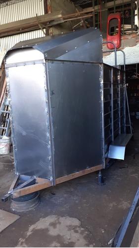 trailer para 2 cabayos  con freno i rompebiento