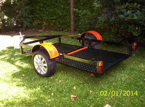 trailer para 3 motos o 2,karting