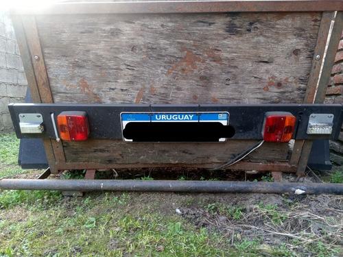 trailer para auto está empadronado con soa.