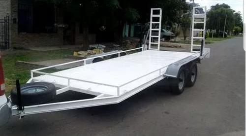 trailer para auto o camioneta a terminar