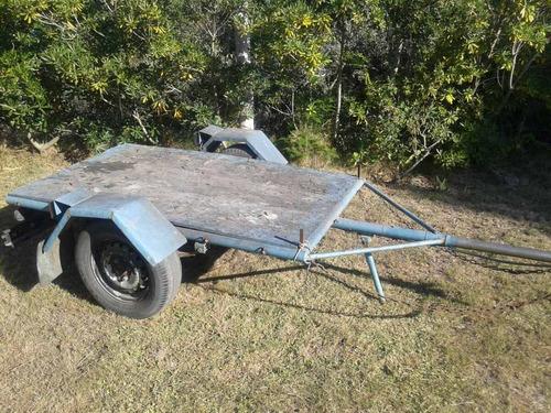 trailer para auto o camioneta ,galvanizado