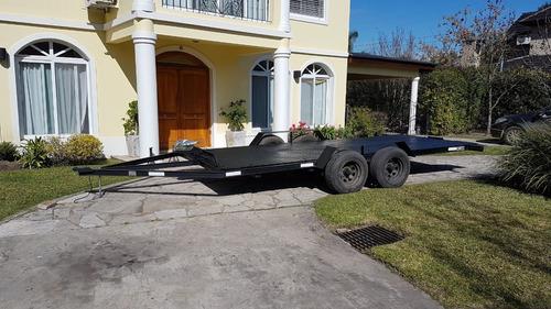 trailer para auxilio autos camionetas usos multiples