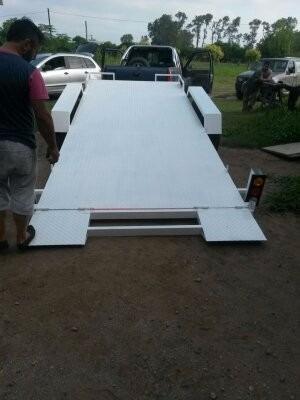 trailer para auxilio mecanico remolque de vehículos