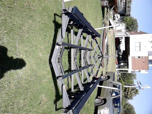trailer para barco - crucero - day cruiser - embarcacion