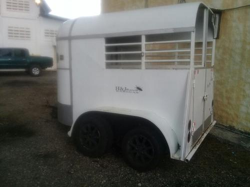 trailer para caballos 2 puestos