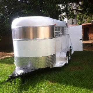 trailer para caballos dobles y sencillos