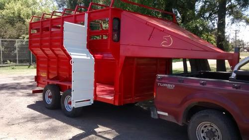 trailer para caballos/polo la guapa