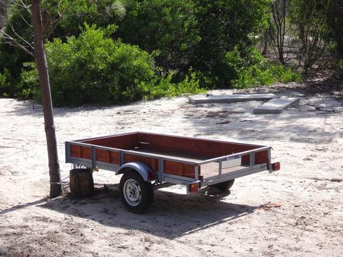 trailer para carga.
