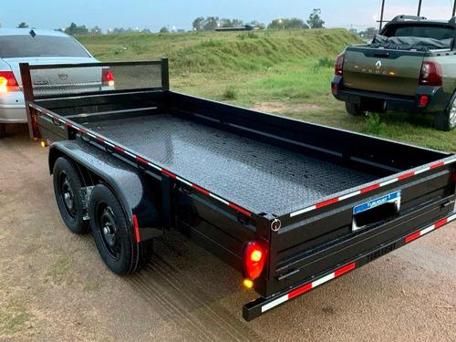 trailer para carga general 2200kg 3 años de garantía oficial