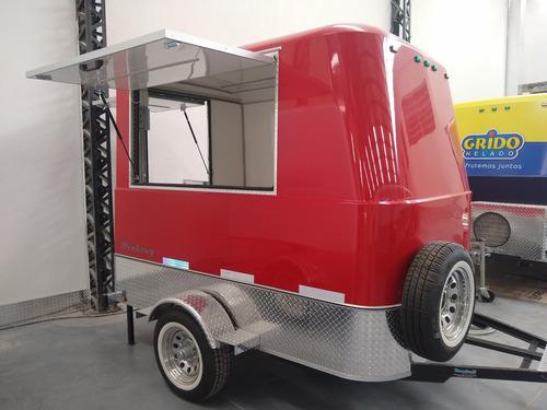 trailer para comida mactrail homologado con lcm
