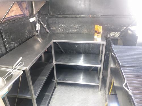 trailer para comidas rápidas
