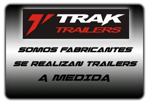trailer para cuatriciclo el mas seguro es marca trak