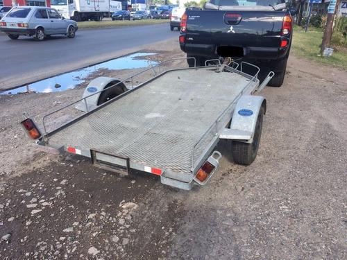 trailer para cuatriciclo  galvanizado