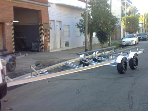 trailer para cuatriciclo utv o moto en perfil