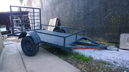 trailer para cuatris o motos, batan, utv, lanchas, caballos