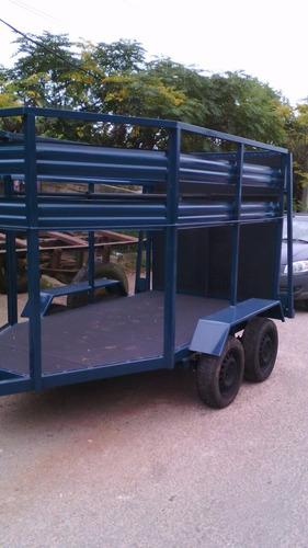 trailer para  dos caballos nuebo