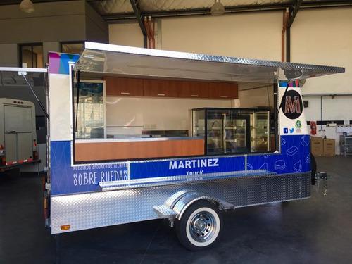 trailer para ferias gastronómicas homologado con lcm