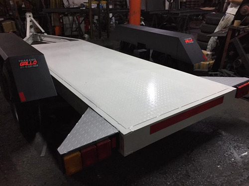 trailer para grupo electrógenos 250kva 3 toneladas con freno