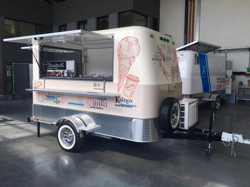 trailer para heladería homologado para vía pública con lcm