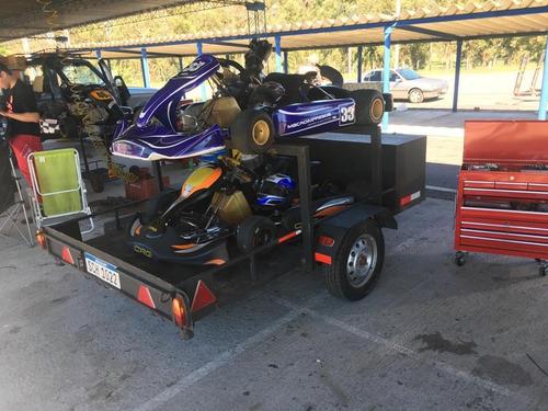 trailer para karting