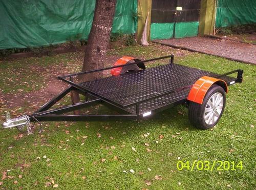 trailer para karting o 3 motos
