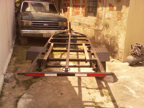trailer para lanchas 14  pies con ballesta de bronco (300)