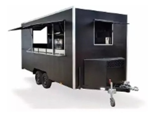 trailer para lanches projeto carretinha reboque food truck/