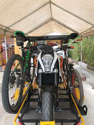 trailer para moto y bicicletas