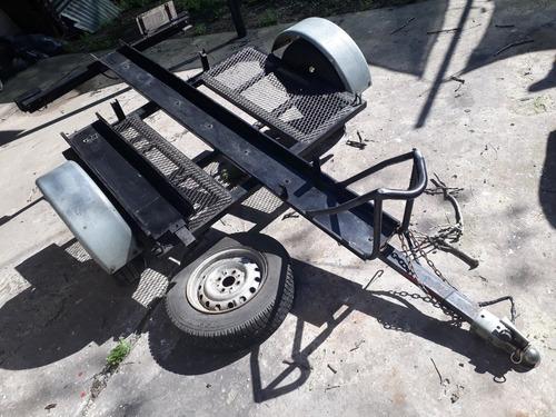 trailer para motos con rampa