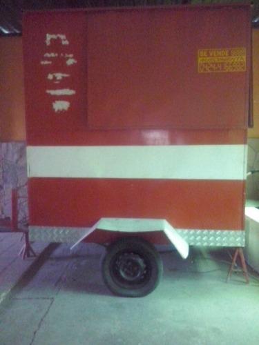 trailer para perros calientes hamburguesas vendo o cambio