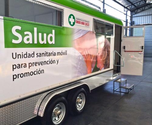 trailer para salud trailer multirubro homologado