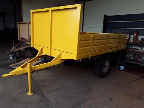 trailer para  trabajos de campo