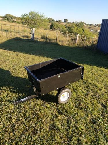 trailer para tractor cortacesped, cuatriciclo o motocicleta