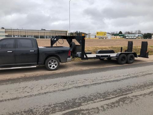 trailer para traslado y auxilio vehicular - 8.000kgs.