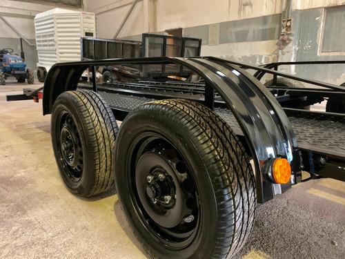 trailer para vehículos autos camionetas 0km 3 años garantía