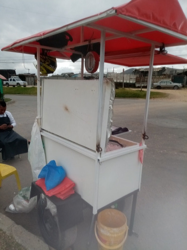 trailer para venta de pescado
