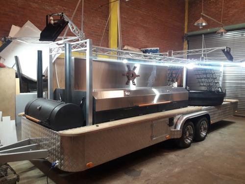 trailer parrilla asador gastronomico