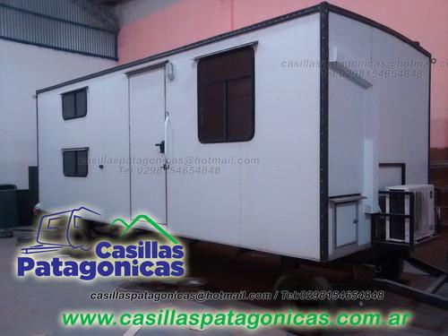 trailer petrolero habitacional  6,50mts