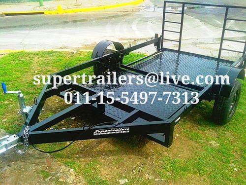 trailer piso bajo,cuatri,moto,supertrailers.