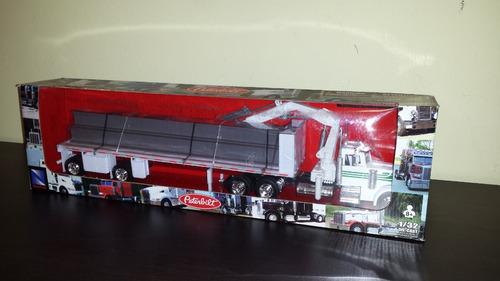 trailer plana con vigas